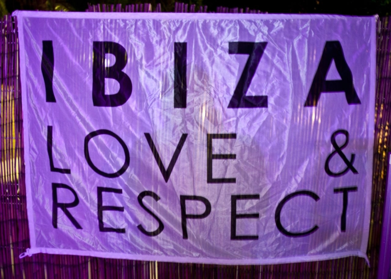 Ibiza poster from festivals in October