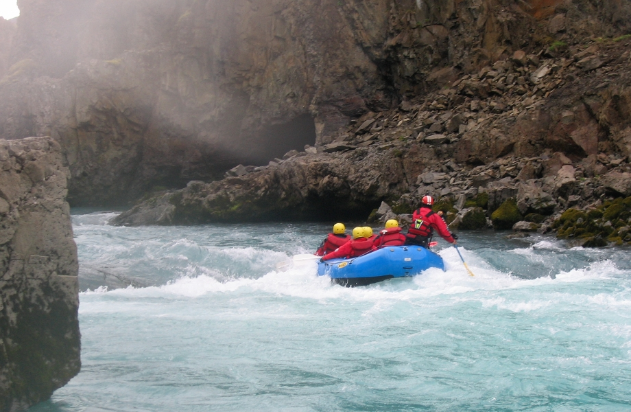 White Water Rafting in Hvita River
