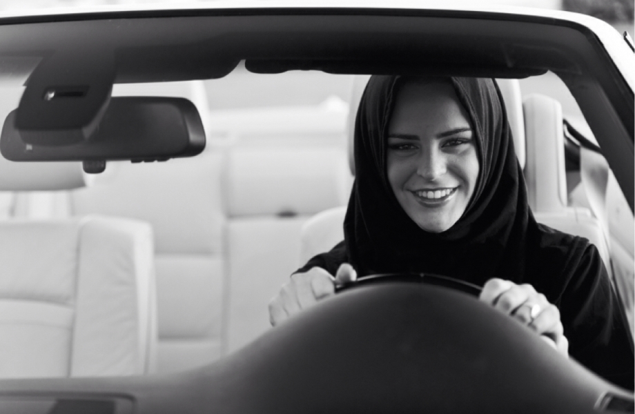 Illegal for women to drive, Saudi Arabia