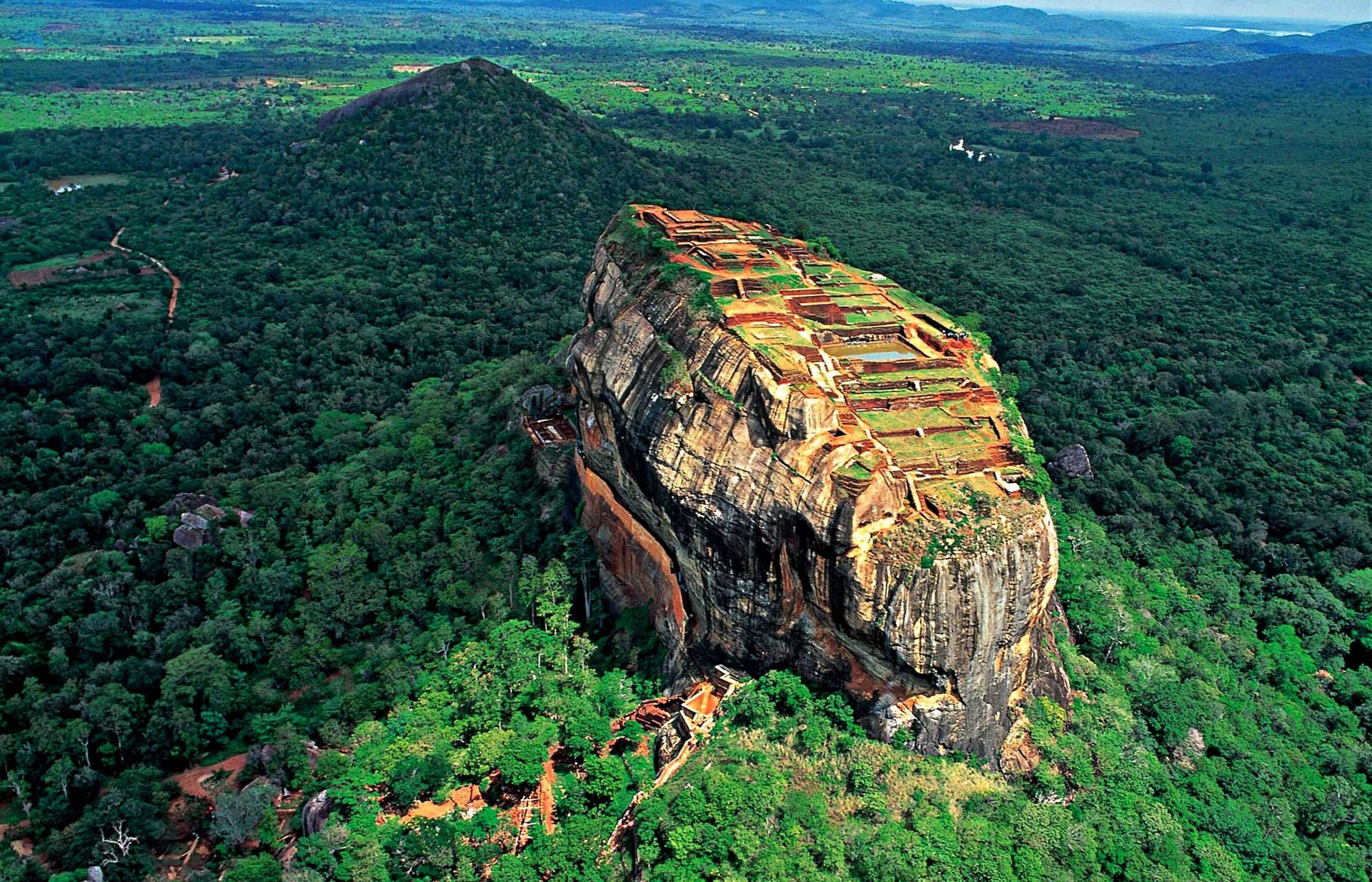 Srilanka top hill view