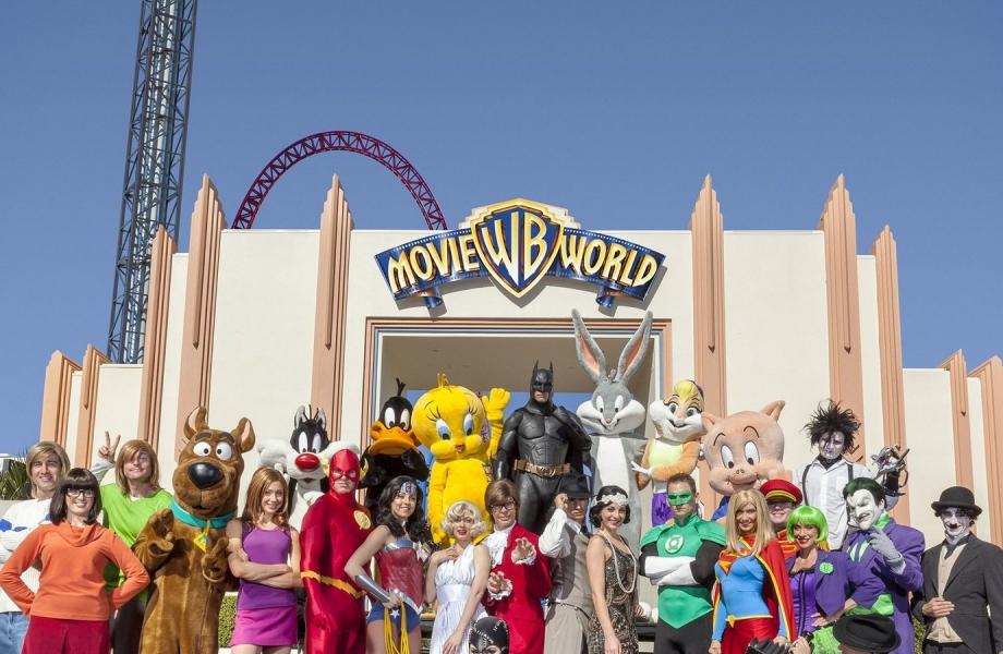 The Warner Brothers Movie World.