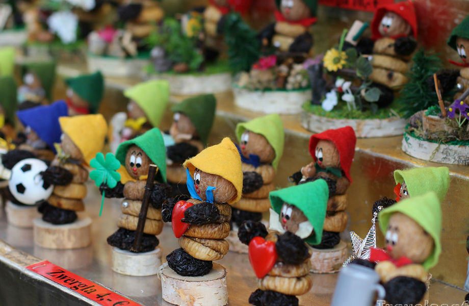 Prunemen from Christmas markets of Germany