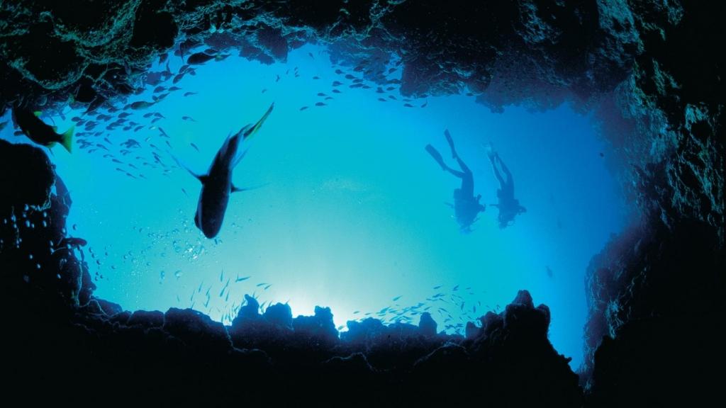 Scuba diving from fun in Australia