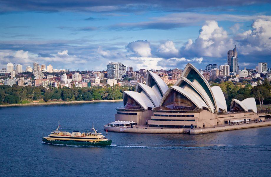 Sydney Opera House and Ferry, Australia