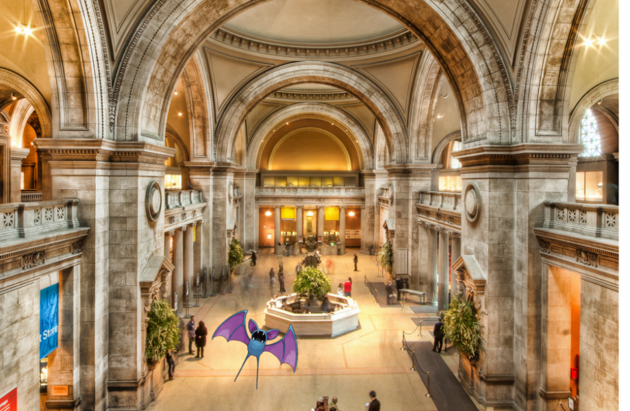 Zubat at the Metropolian Museum of Art in New York