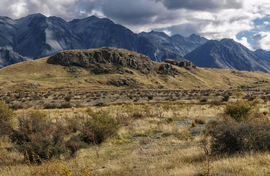Filming location of Edoras city on Mount Sunday