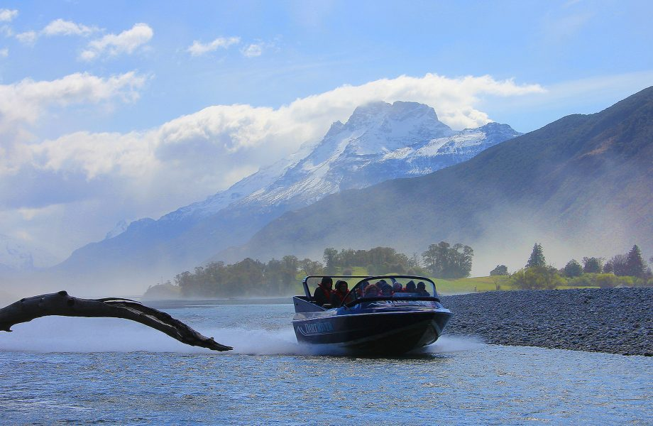 Jetboating on Dart River