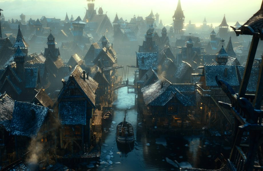Laketown from The Hobbit movie