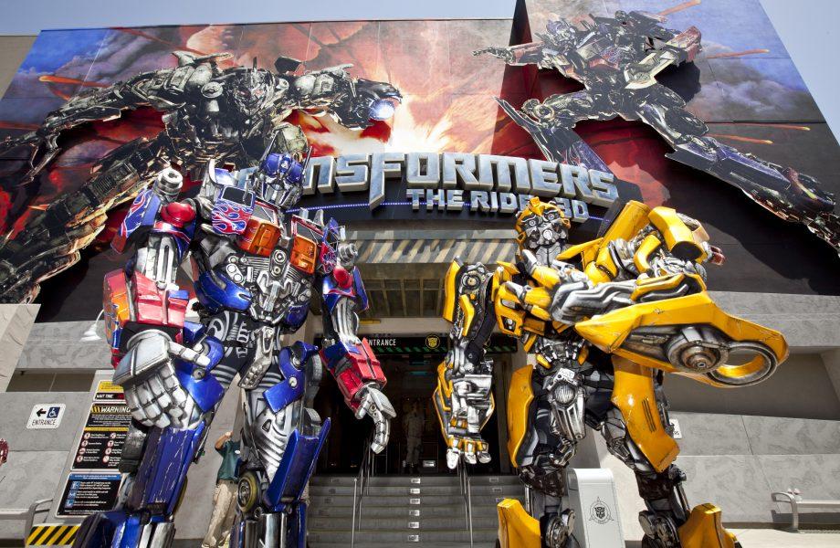 Transformers ride Universal studio, Singapore