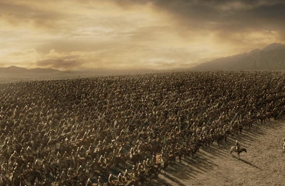Preparing for Battle of Pelennor fields
