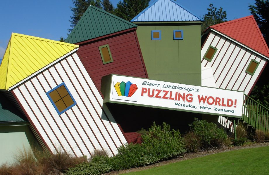 Puzzling World in Wanaka