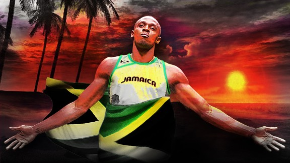 Usain Bolt in Jamaica