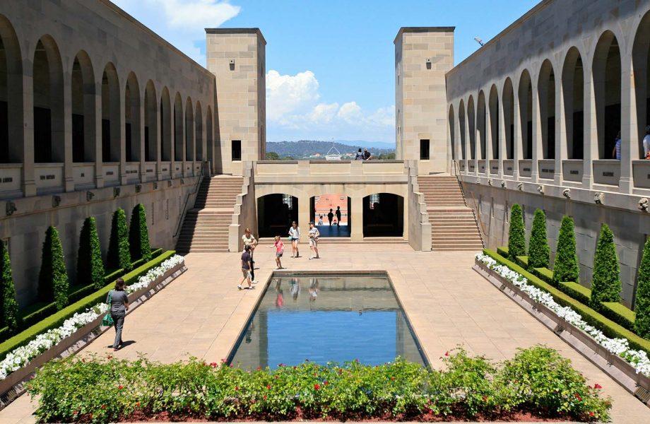 The Canberra war memorial