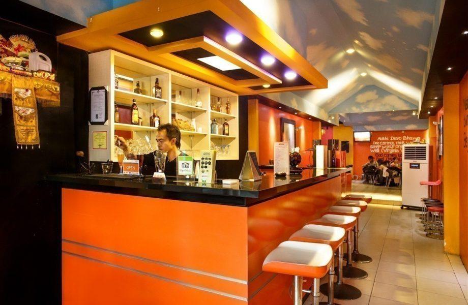 Inside Atithi restaurant