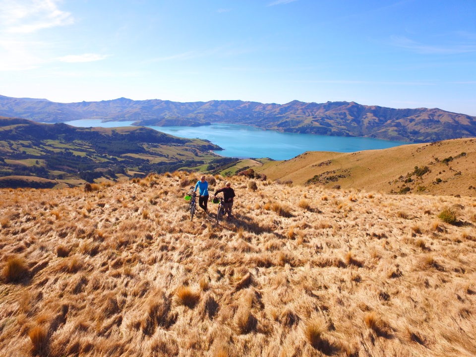 Tramping at Akaroa