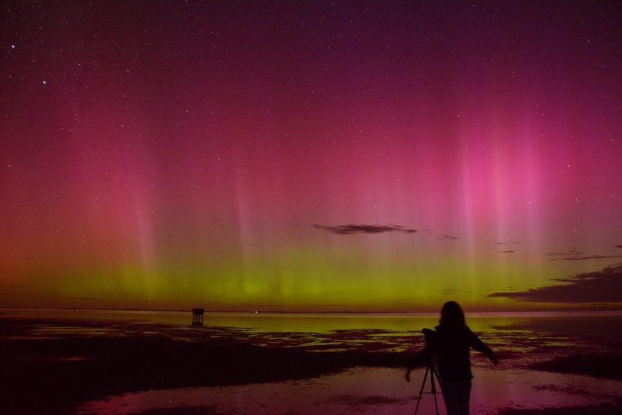 Southern Lights at Lake Tekapo