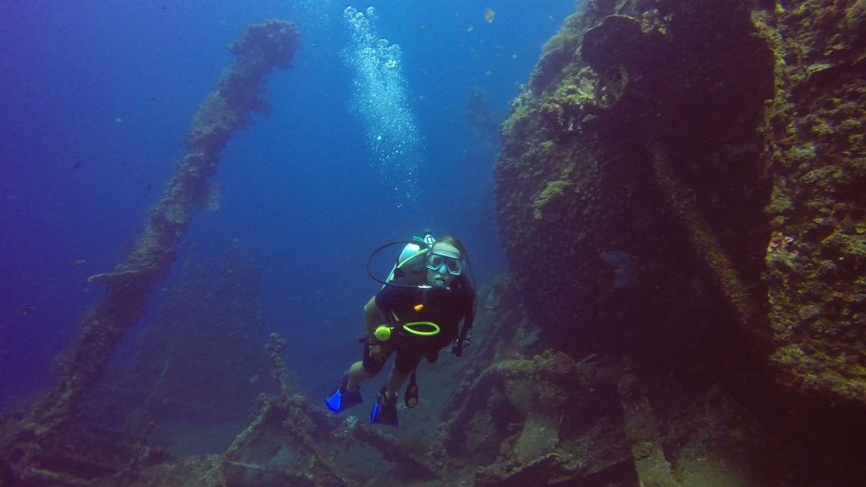 The USS Liberty wreck dive in Bali