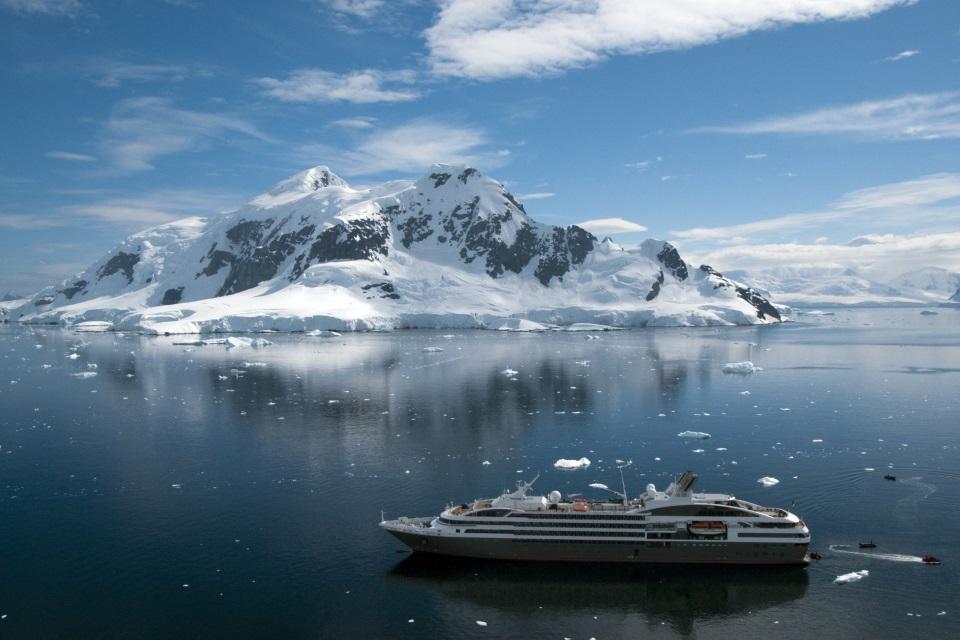 A glimpse of Antarctica