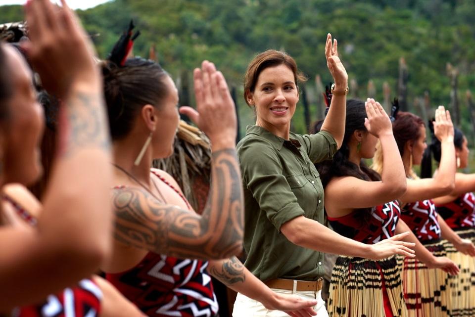 With the Maoris