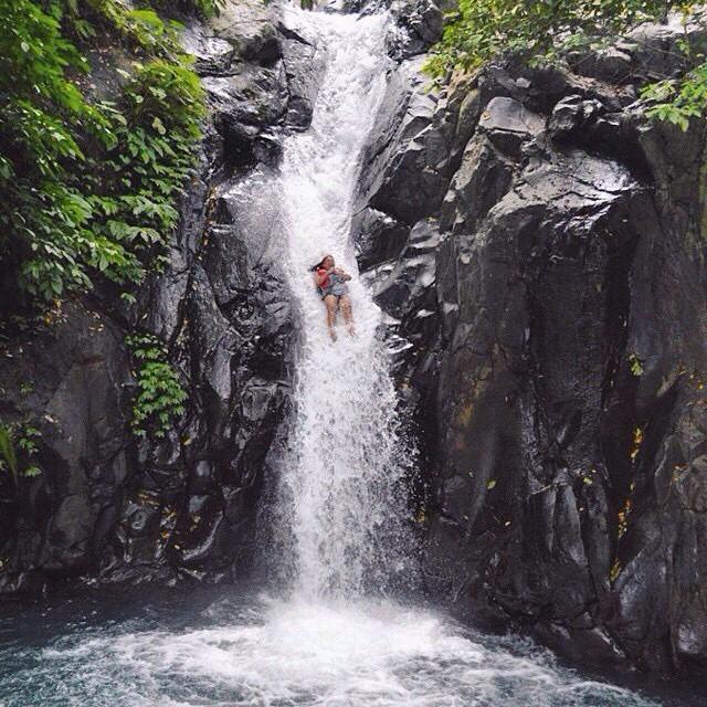 aling aling waterfall, Bali honeymoon