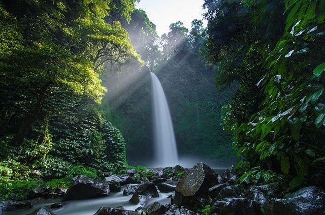 Nungnung Falls - A Bali Tourist Attraction