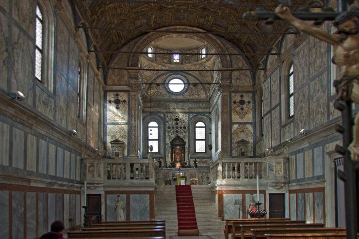 Inside Santa Maria dei Miracoli