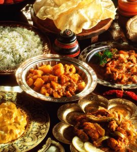 Indian restaurants in Spain