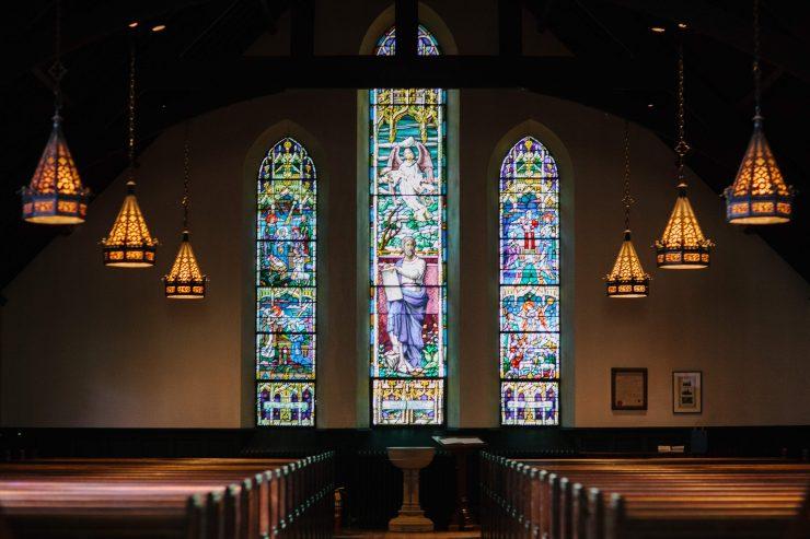 Sunday mass church