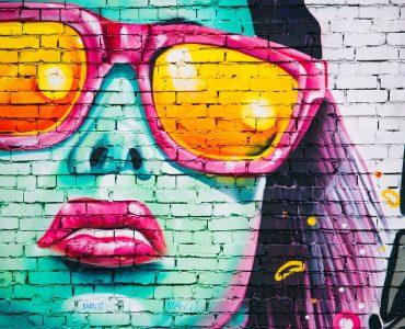 Graffiti art in the streets of Madrid