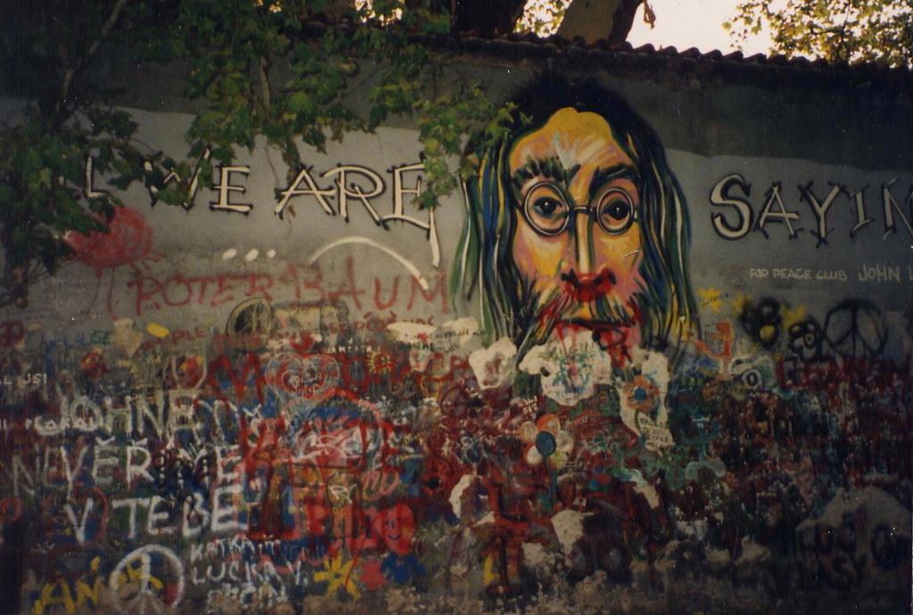 The John Lennon wall