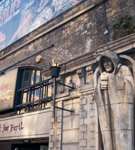 Outside of London Dungeon