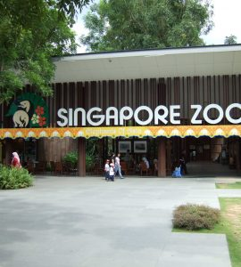 entrance of Singapore Zoo