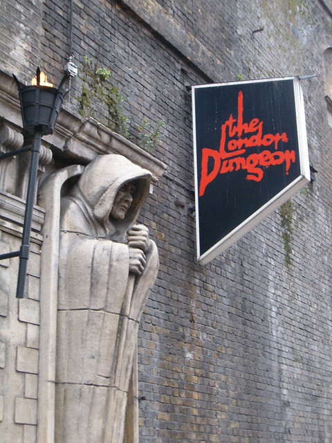 Image of the outside of the London Dungeon