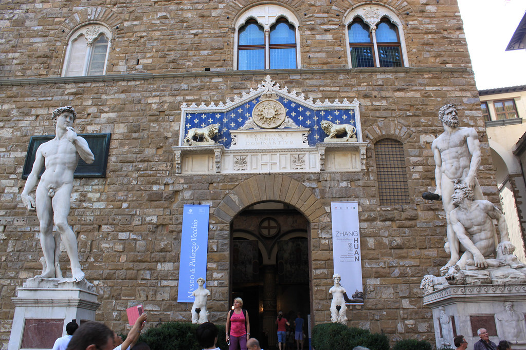 The Entrance of Palazzo Vecchi