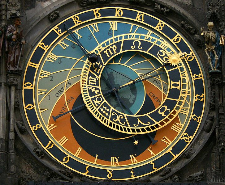 The Dial of Astronomical Clock
