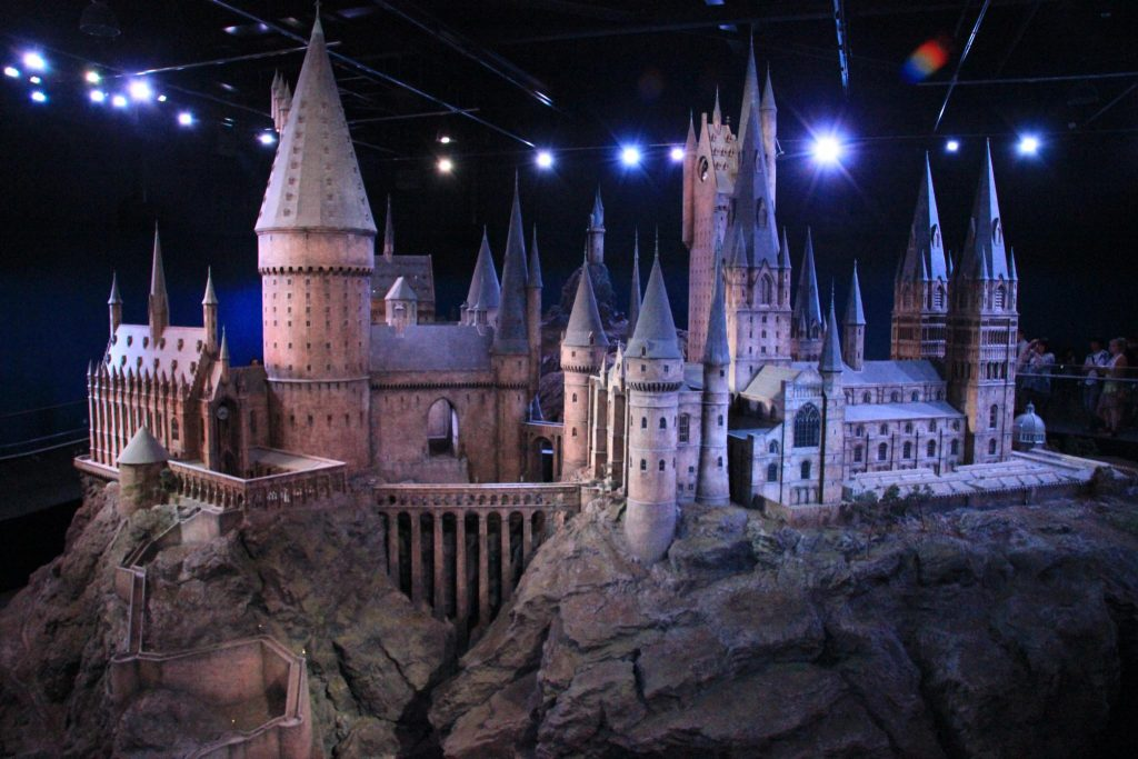 Hogwarts at Warner Bros, London