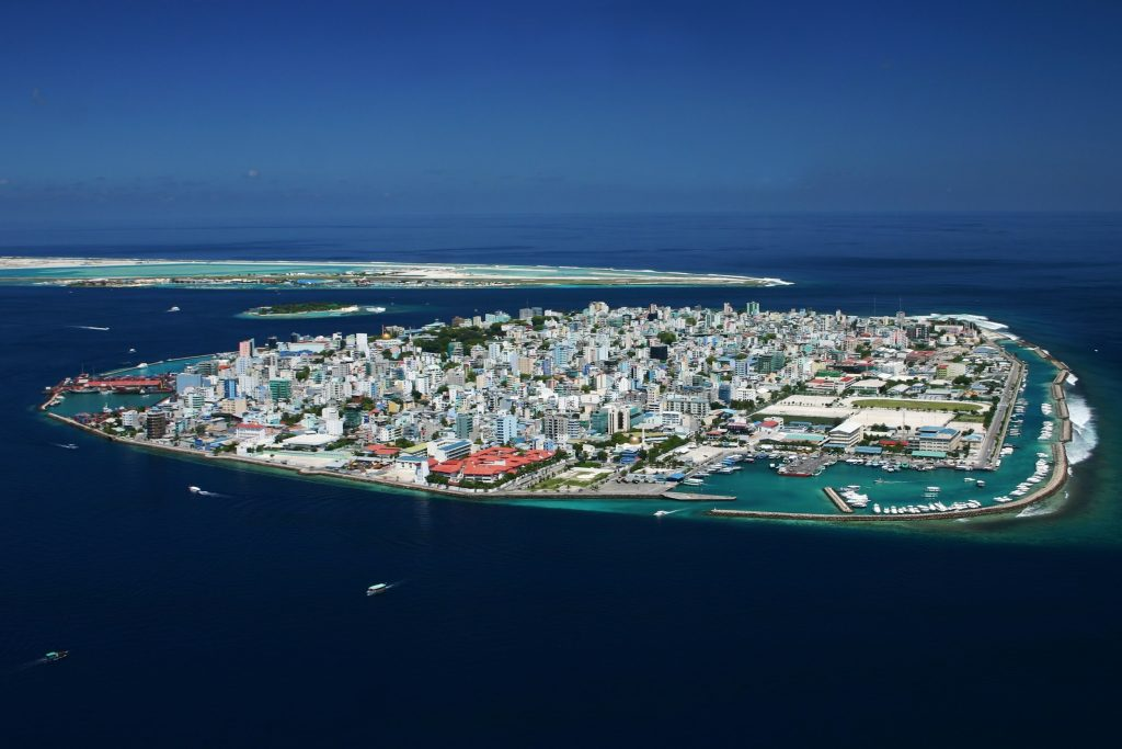 Hulhumale Island Aerial View