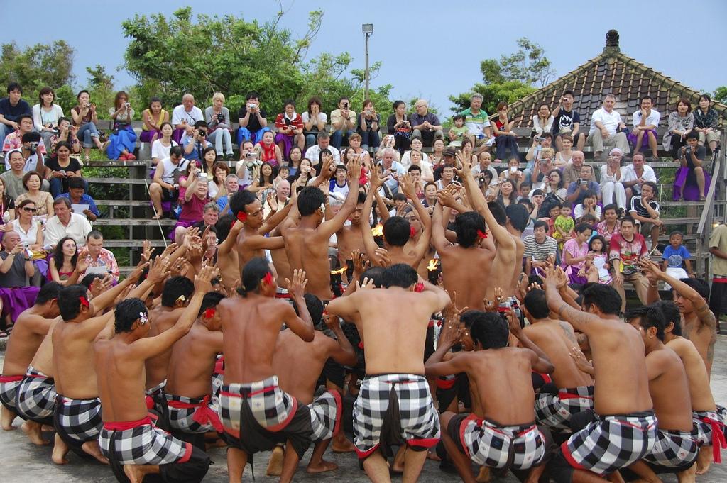 Kecak dance in Bali