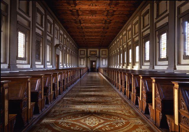Interior of San Lorenzo Basilica