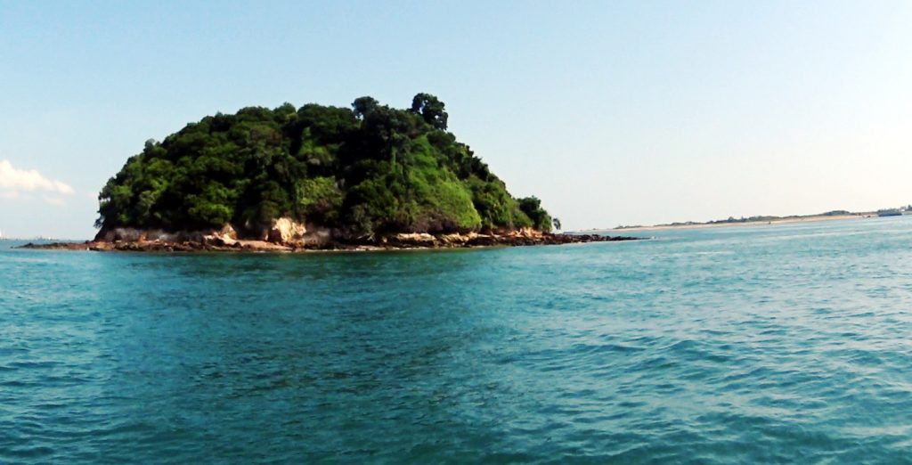 The Pulau Jong island in Singapore which offers Snorkelling