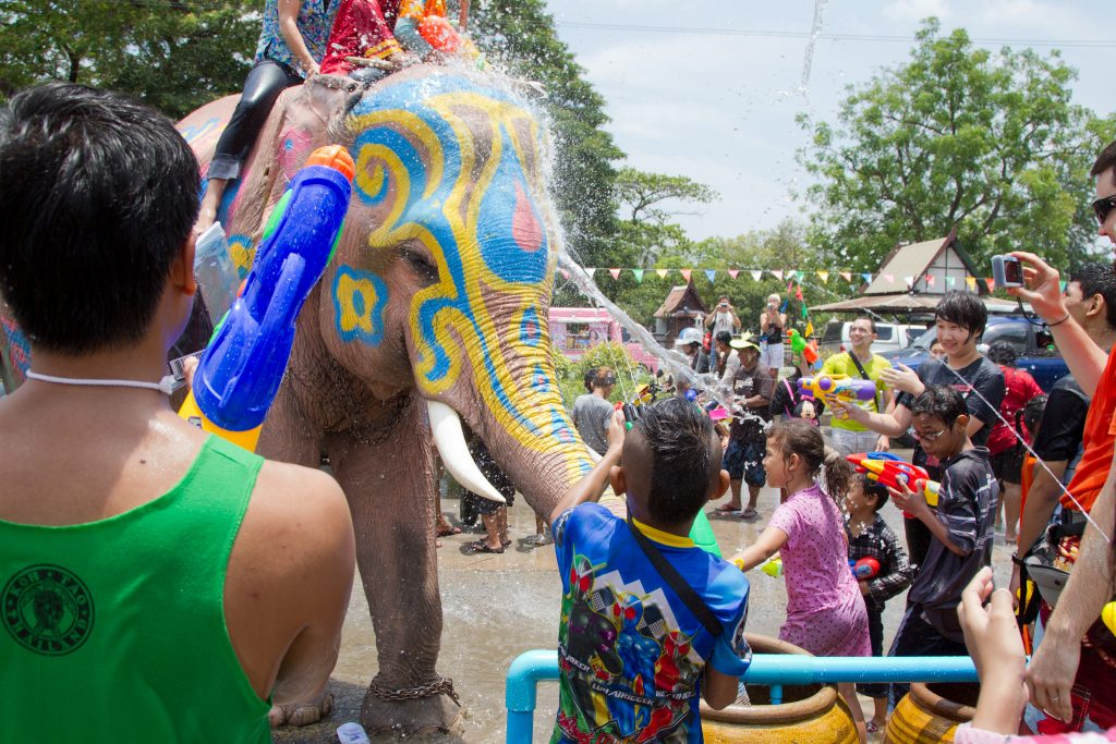 The Songkran festival, Chiang Mai