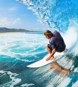 Legian Beach Surfing
