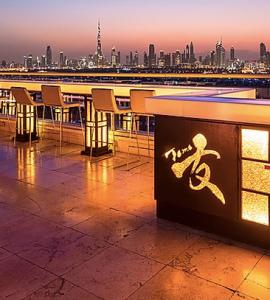 Tomo Rooftop Bar in Dubai