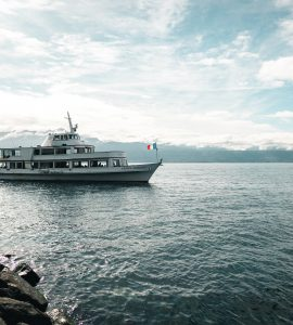 A cruise in the Lake Geneva