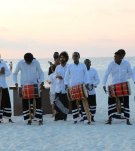 Bodu Beru Show in Maldives