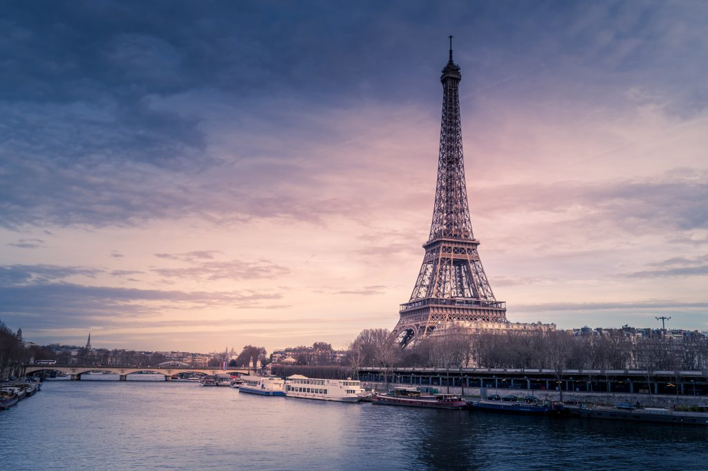 Eiffel Tower, one of the best places to visit in Europe