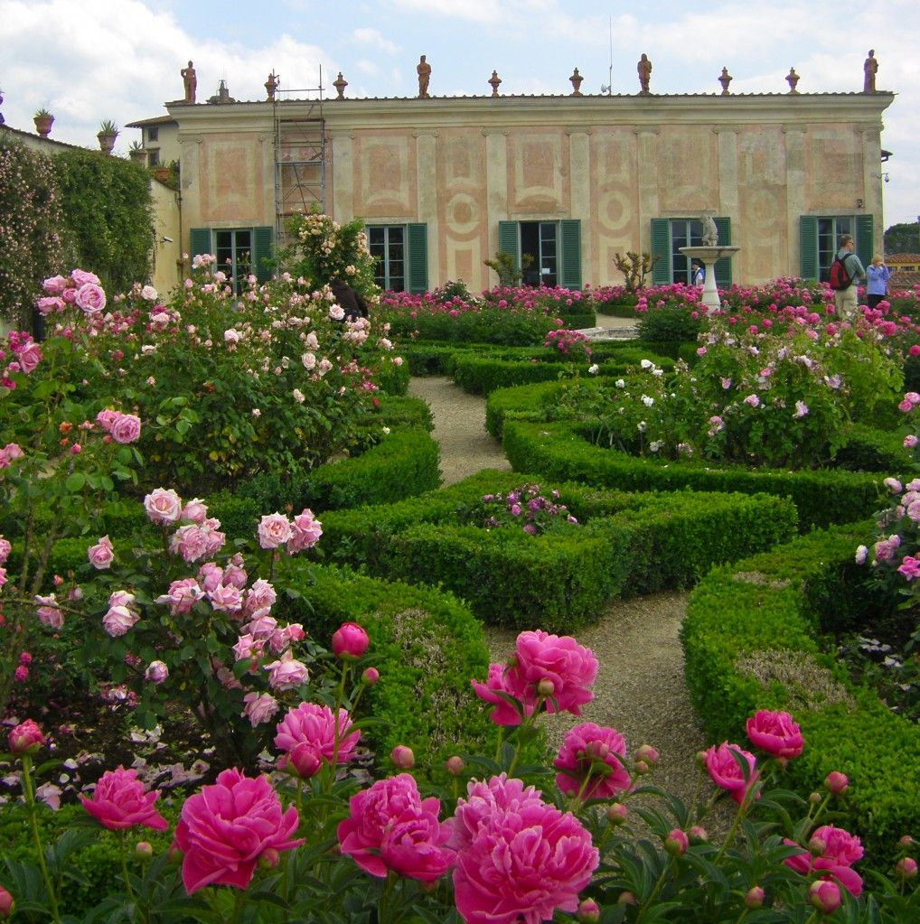 The rose Garden in the Boboli Gardens, Florence
