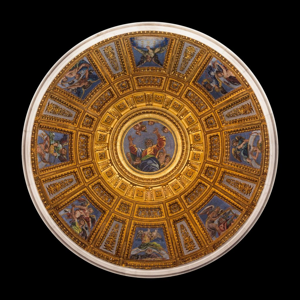 The Dome of Santa Maria Del Popolo, one of the best churches in Rome