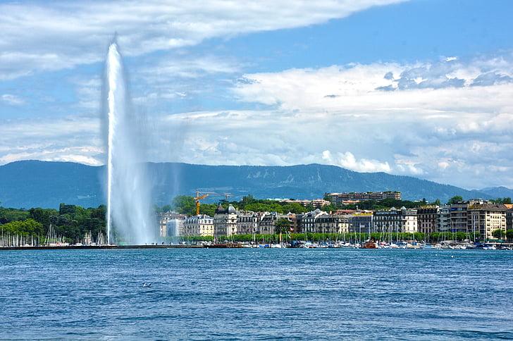 Water Fountain long shot