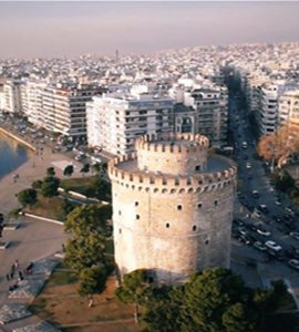 white tower in greece, thessaloniki tower, greece history